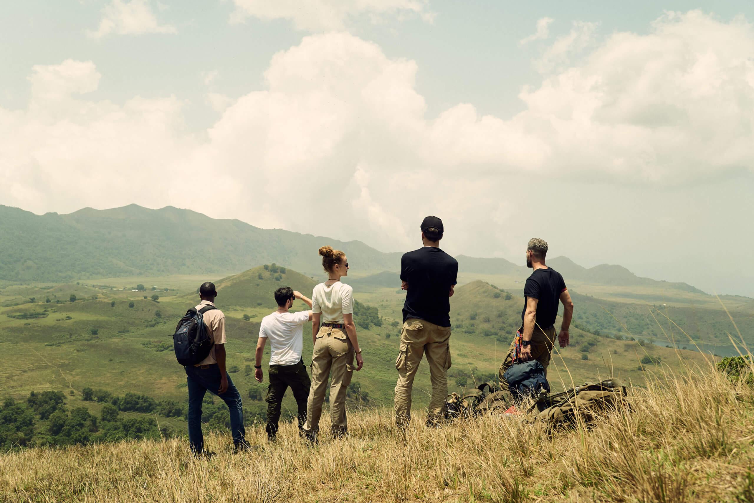 Read more about the article Etappe 4 – Durchquerung Vulkankrater auf 2000 m. ü. M.