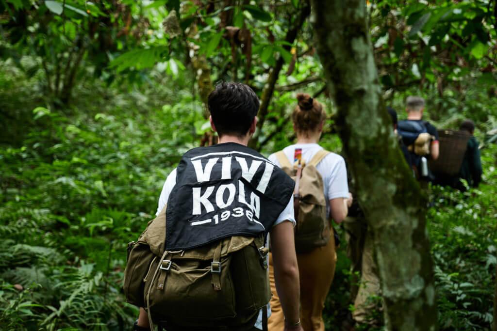 Das Vivi Kola Team auf der Suche nach dem Kola Baum