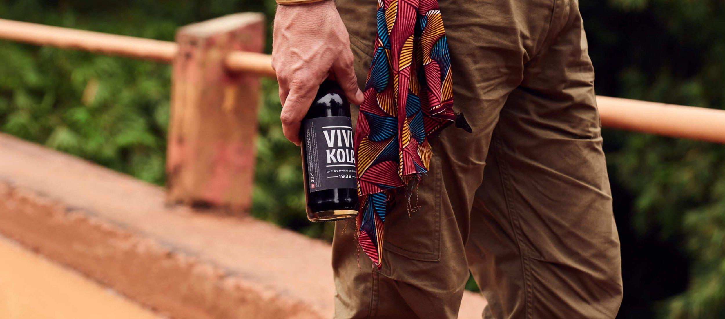 Vivi Kola bottle in Cameroon